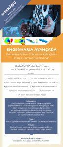 Convite semiário de engenharia Avançada