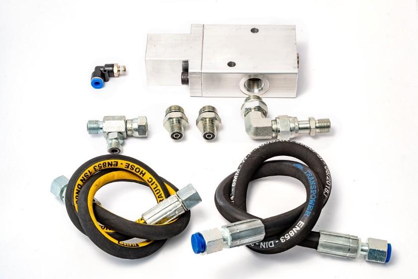 Kit de instalação do inclinômetro vibracon cog mso para caminhão fora de estrada