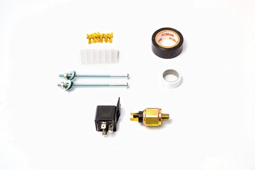 Kit de instalação inclinômetro guindauto COG MSO