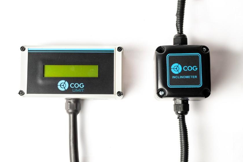 Sensor de inclinação e display externo para inclinômetro para caminhão munck guindauto